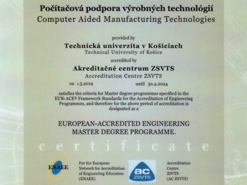 Computer Aided Manufacturing Technologies